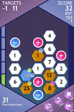 Screenshots von Sumico: The numbers game für Android-Tablet, Smartphone.
