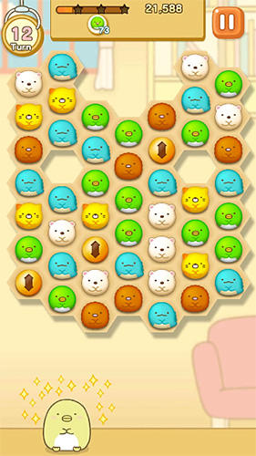 Screenshots von Sumikko gurashi: Our puzzling ways für Android-Tablet, Smartphone.