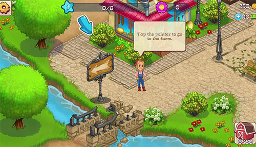 Screenshots von Summer tales: Farm and town für Android-Tablet, Smartphone.