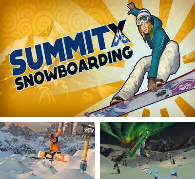 In addition to the game APO Snow for Android phones and tablets, you can also download SummitX Snowboarding for free.