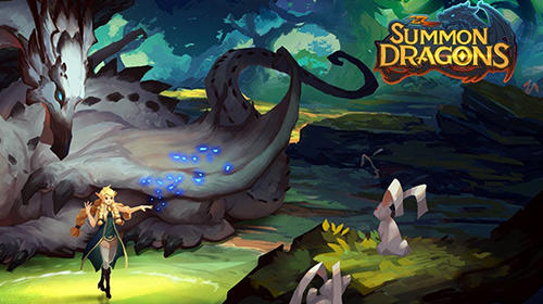 Summon dragons poster