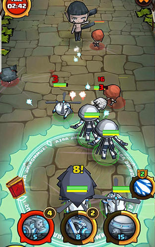Juega a Summoners battle: Angel's wrath para Android. Descarga gratuita del juego Batalla de invocadores: Ira do angel.