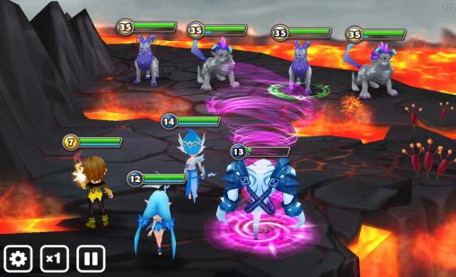 Гра Summoners war: Sky arena на Android - повна версія.