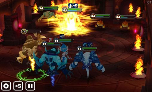Screenshots do Summoners war: Sky arena - Perigoso para tablet e celular Android.