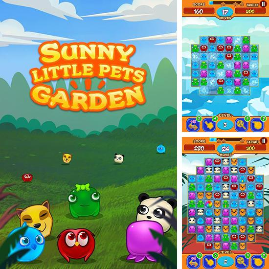 In addition to the game Gems of pharaoh for Android phones and tablets, you can also download Sunny little pets garden for free.