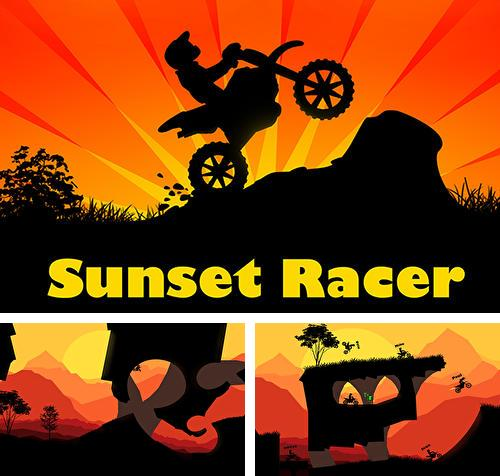 Sunset bike racer: Motocross