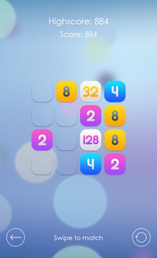 Super 2048 screenshot 2