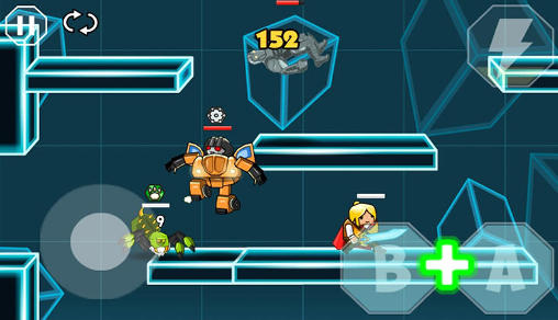 Screenshots von Super boys: The big fight für Android-Tablet, Smartphone.