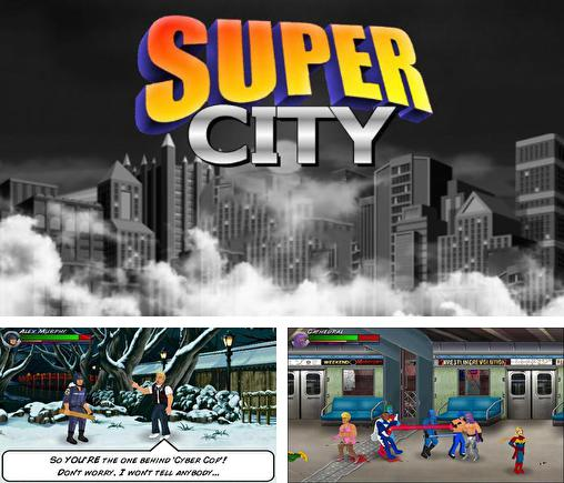Super city: Superhero sim