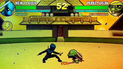 Screenshots von Super hero fighters für Android-Tablet, Smartphone.