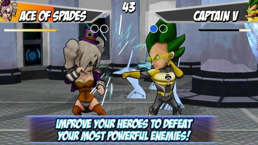 Screenshots von Super hero fighters 2 für Android-Tablet, Smartphone.