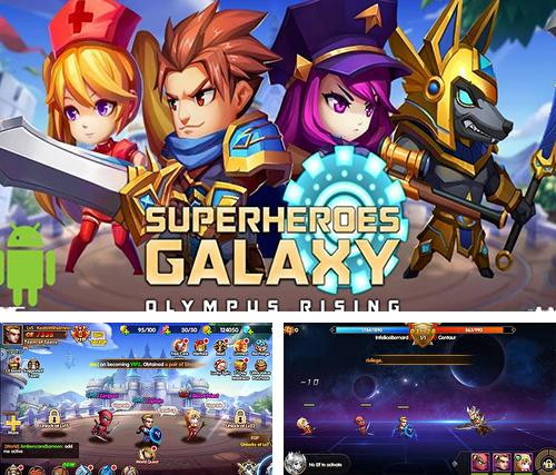 En plus du jeu Zombieland: Double tap pour téléphones et tablettes Android, vous pouvez aussi télécharger gratuitement Superhéros de la galaxie: Ascension à l'Olympe, Super heroes galaxy: Olympus rising.