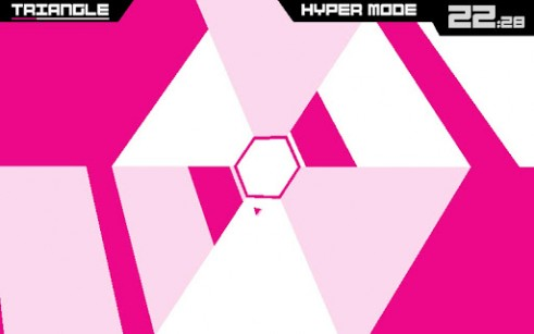 Jogue Super hexagon para Android. Jogo Super hexagon para download gratuito.