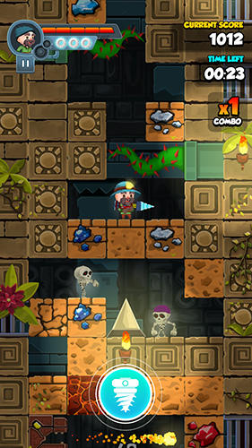 Screenshots do Super Jones - Perigoso para tablet e celular Android.
