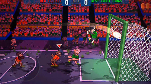 Screenshots von Super jump soccer für Android-Tablet, Smartphone.