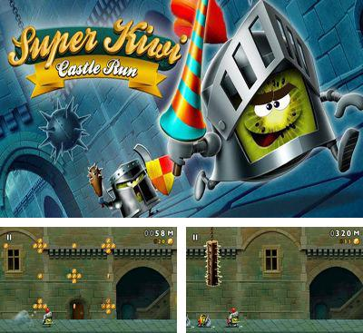 In addition to the game Men's Room Mayhem for Android phones and tablets, you can also download Super Kiwi Castle Run for free.