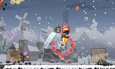 Screenshots of the Super Knights for Android tablet, phone.