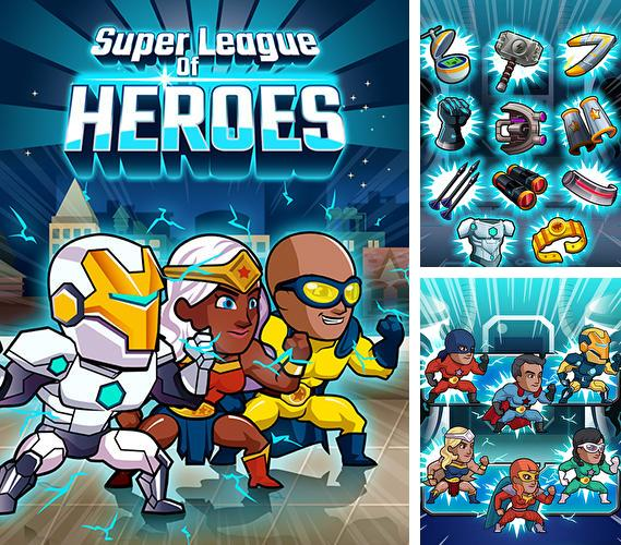 Super league of heroes: Comic book champions
