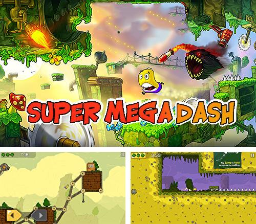In addition to the game Metal shooter: Run and gun for Android phones and tablets, you can also download Super mega dash for free.