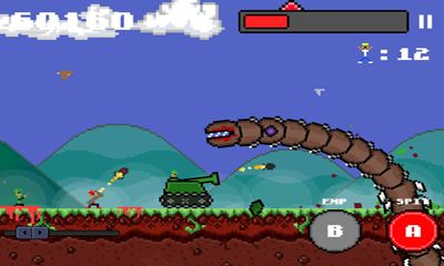 Screenshots of the Super mega worm for Android tablet, phone.