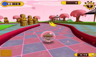 Capturas de pantalla de Super Monkey Ball 2 Sakura Edion para tabletas y teléfonos Android.