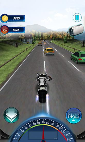 Kostenloses Android-Game Super Moto GP Rush. Vollversion der Android-apk-App Hirschjäger: Die Super moto GP rush für Tablets und Telefone.