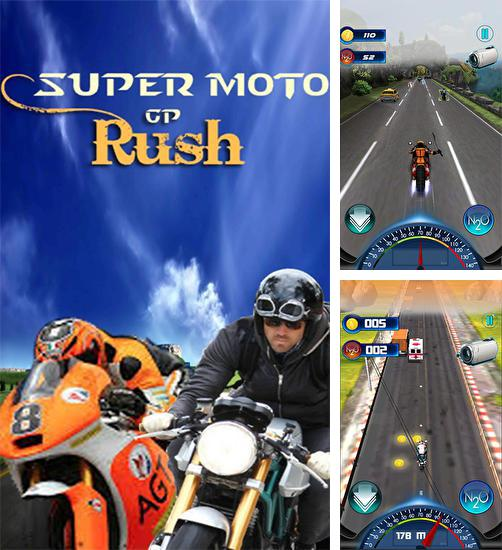 In addition to the game Moto cop dash for Android phones and tablets, you can also download Super moto GP rush for free.
