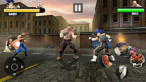 Screenshots von Super power warrior fighting legend revenge fight für Android-Tablet, Smartphone.