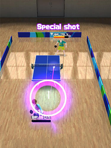 Screenshots von Super rally table tennis für Android-Tablet, Smartphone.