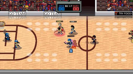 Super slam dunk touchdown screenshot 2