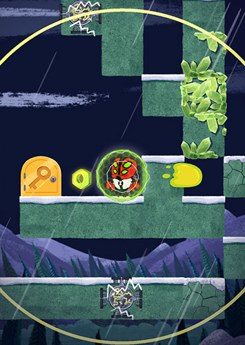 Screenshots do Super slime Ben - Perigoso para tablet e celular Android.