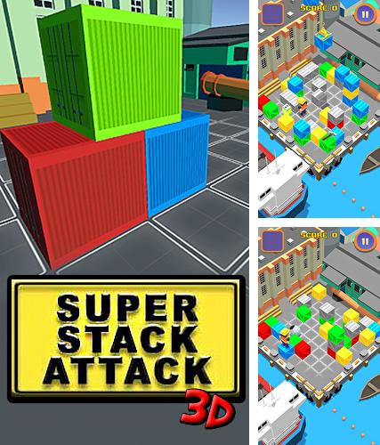 In addition to the game Friday the 13th: Killer puzzle for Android phones and tablets, you can also download Super stack attack 3D for free.