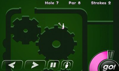 Screenshots of the Super Stickman Golf for Android tablet, phone.