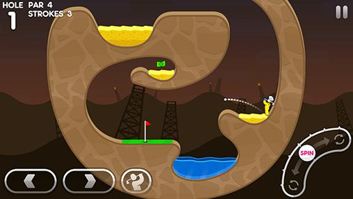 Screenshots von Super stickman golf 3 für Android-Tablet, Smartphone.