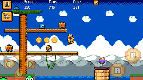 Screenshots von Super wolfman adventure für Android-Tablet, Smartphone.