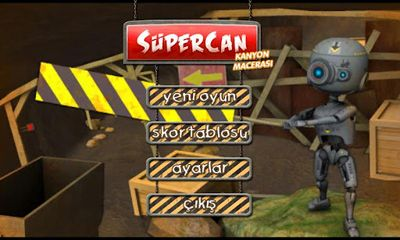 Supercan Canyon Adventure screenshot 1