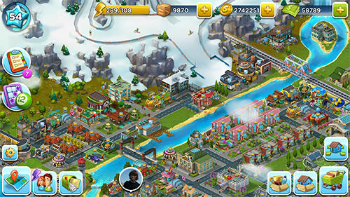 Idle island: City building tycoon скриншот 2