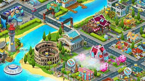 Idle island: City building tycoon скриншот 5