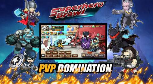 Screenshots von Superhero brawl für Android-Tablet, Smartphone.