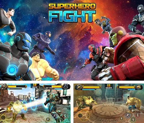 Superhero fighting games 3D: War of infinity gods