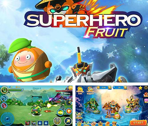 Superhero fruit. Robot wars: Future battles