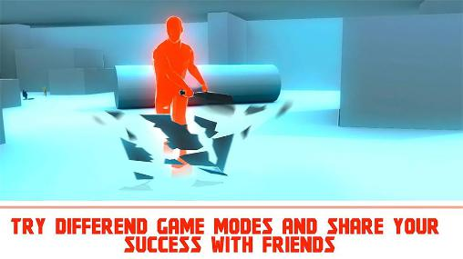 安卓平板、手机Superhot shooter 3D截图。