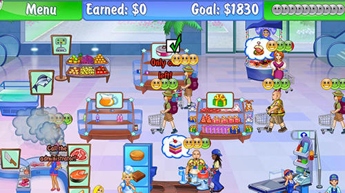 Supermarket management 2 für Android spielen. Spiel Supermarkt Management 2 kostenloser Download.
