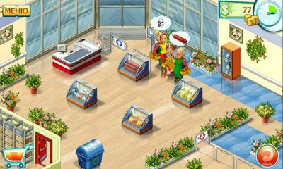 Screenshots von Supermarket Mania 2 für Android-Tablet, Smartphone.