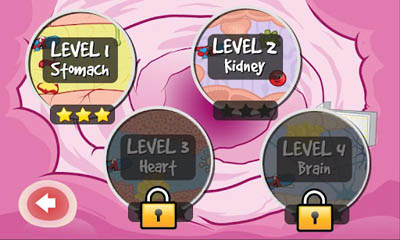 Screenshots of the Superpill for Android tablet, phone.
