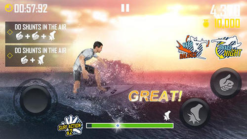 Screenshots von Surfing master für Android-Tablet, Smartphone.