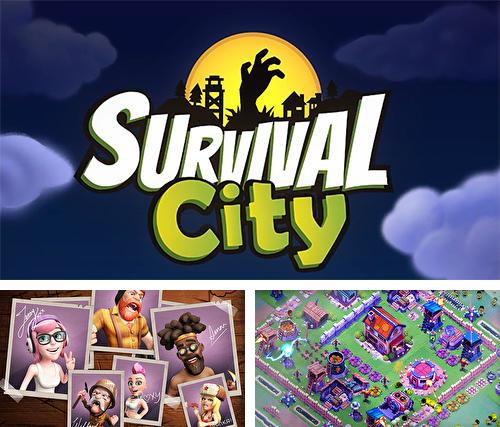 Survival city: Zombie base build and defend