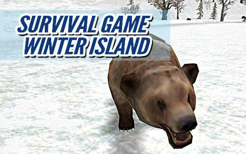 Survival game winter island 3D poster
