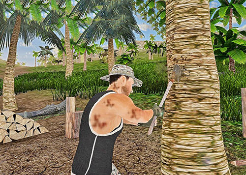 Survival island warrior escape screenshot 2
