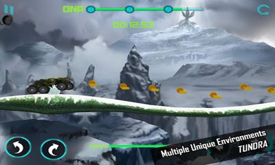 Screenshots of the Survival Race for Android tablet, phone.